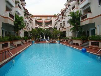 Swimming Pool At El Patio Apartment Bangkok