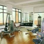 Fitness room Aguston condo Bangkok